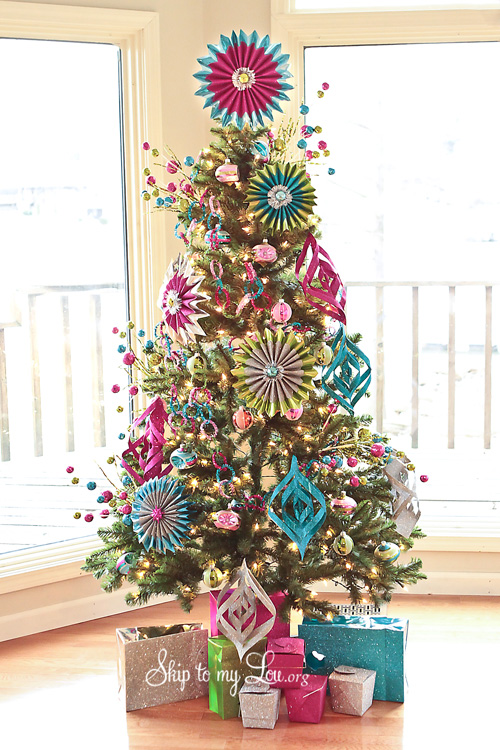 Michael 39 s dream tree challenge how to make handmade for Michaels christmas tree ornaments