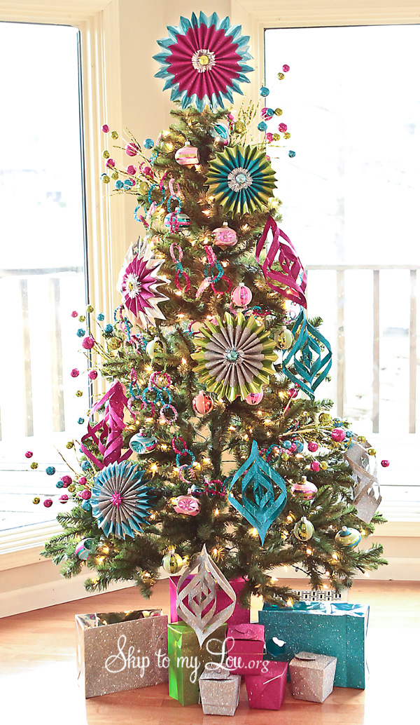 decorated christmas trees - photo #7