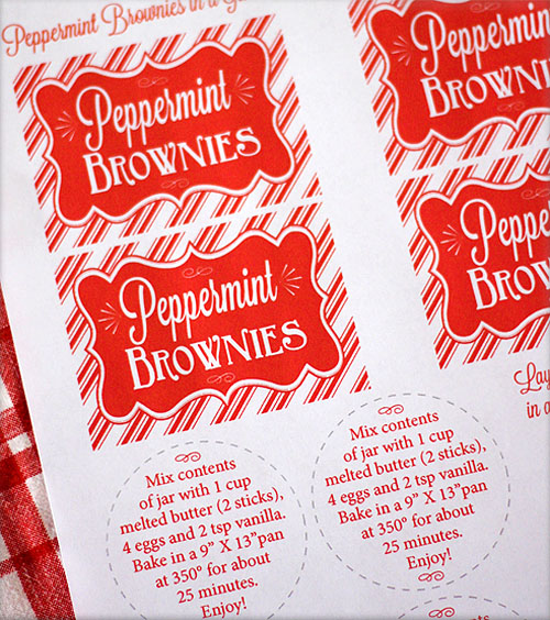 Fabulous Cinnamon Spice Muffin Mix Free Printable Label Swell Noel 7 Easy Diy Christmas Decorations Tissureus