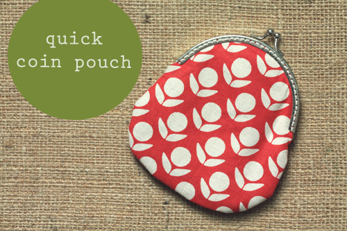 Quick Coin Pouch Skip To My Lou