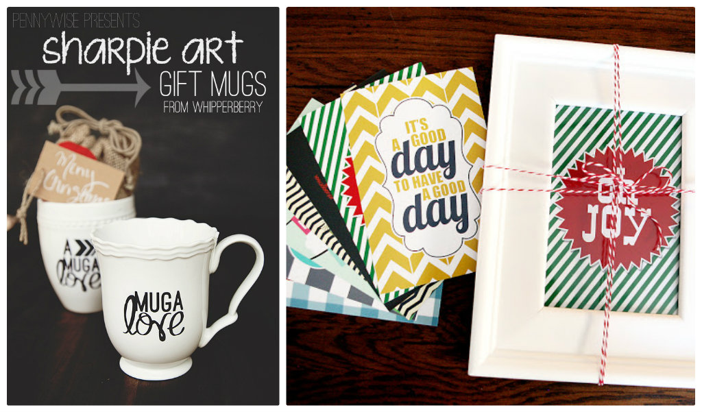 Sharpie Art Gift Mugs from Whipperberry