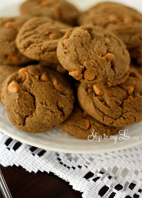 Gingerbread Butterscotch cookies | Skip To My Lou