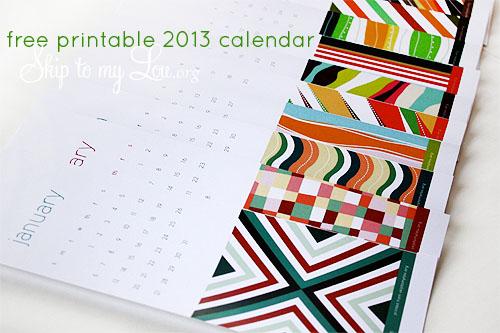 Calendar Free Printable Skip To My Lou