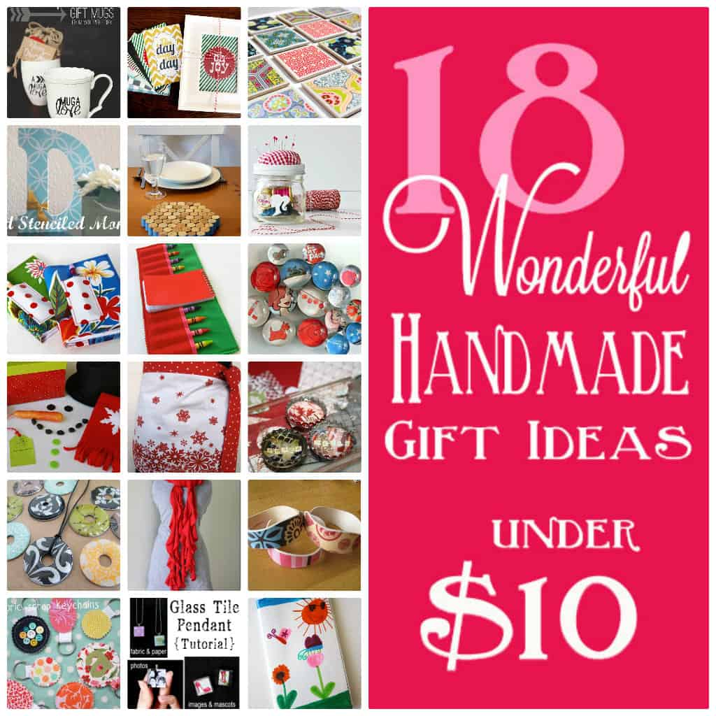 Handmade Christmas Gifts For Kids: 18 Handmade Gifts Under $10