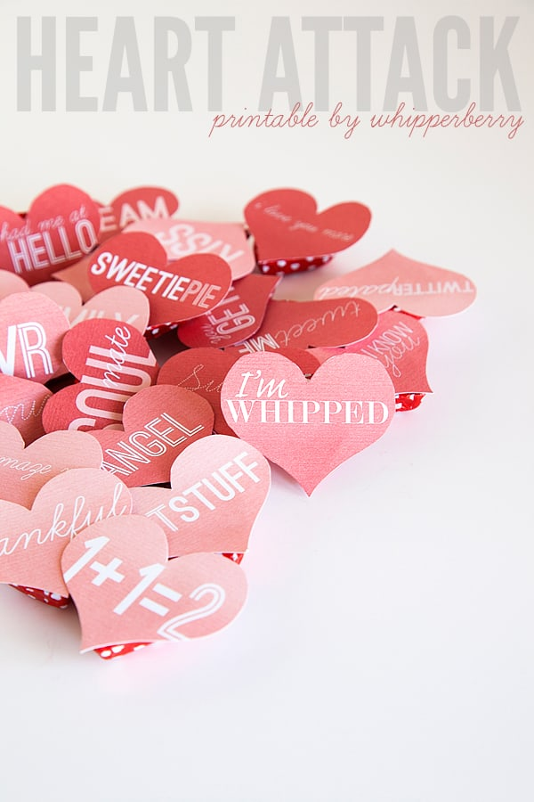 Heart Attack Printables From Whipperberry Skip To My Lou