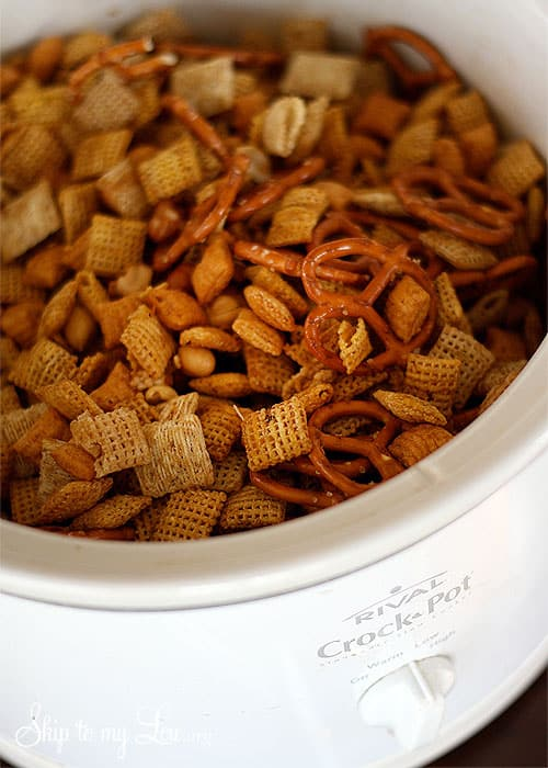 Crock Pot Chex Mix Skip To My Lou
