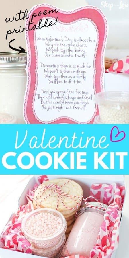 valentine cookie kit PIN