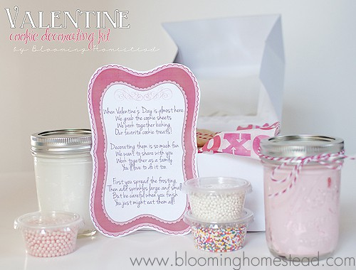 Valentine Cookie Kit with Poem Printable | Skip To My Lou