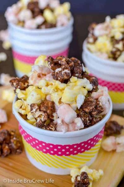 banana split flavored popcorn