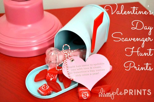 valentine's day scavenger hunt | skip to my lou, Ideas