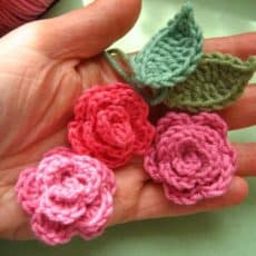 Easy Crochet Rose