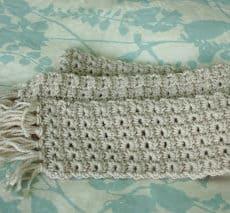 Star scarf pattern