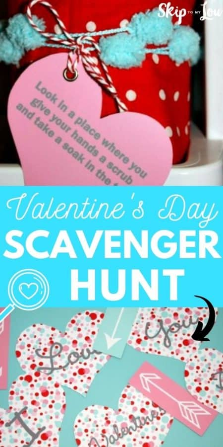Valentines Day Scavenger Hunt PIN