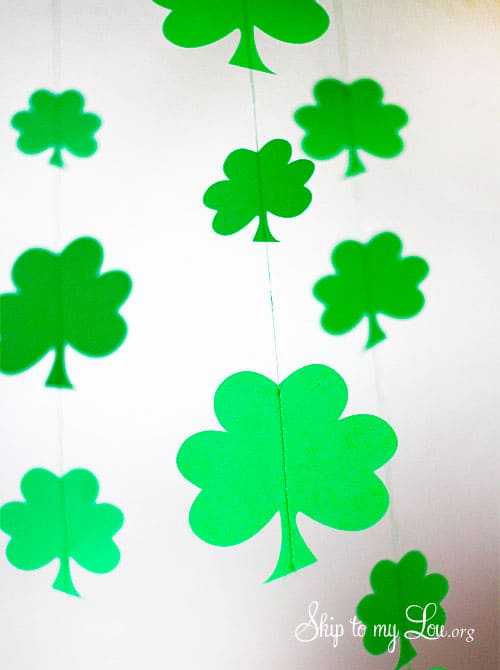 St Patrick S Day Shamrock Craft Amp Silhouette Portrait