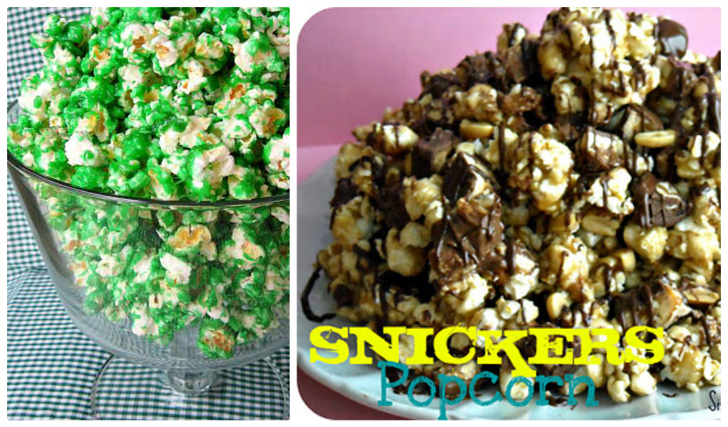 snickers flavored popcorn