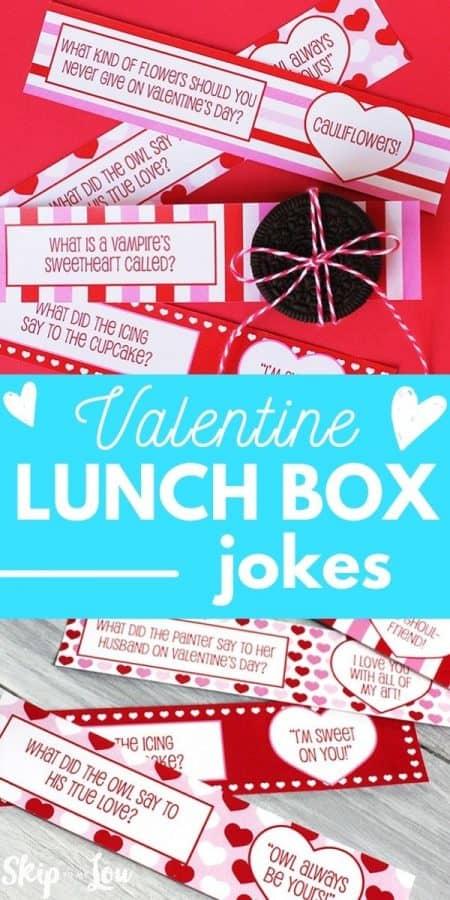 valentine lunch box jokes PIN