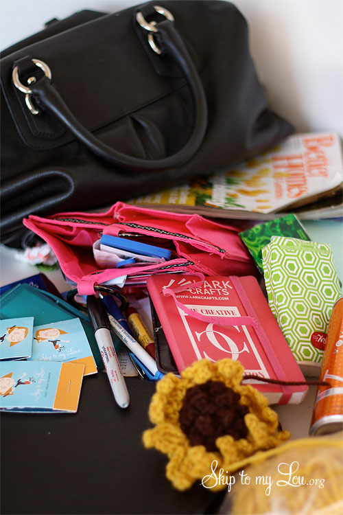 What's In Your Bag? {Martha Stewart Tote Giveaway} Closed | Skip ...
