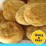 snickerdoodle cake mix recipe PIN