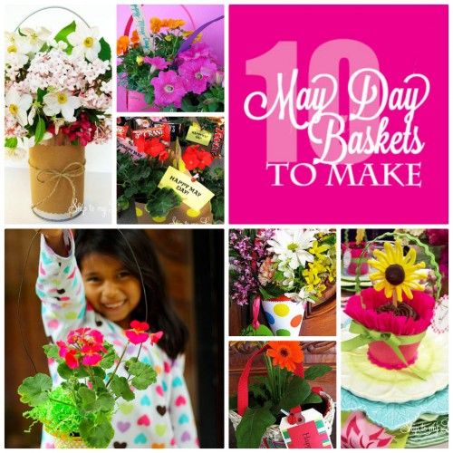 10 May Day Baskets To Make