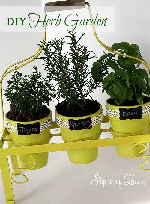 Diy Herb Garden Home Design Ideas And Pictures