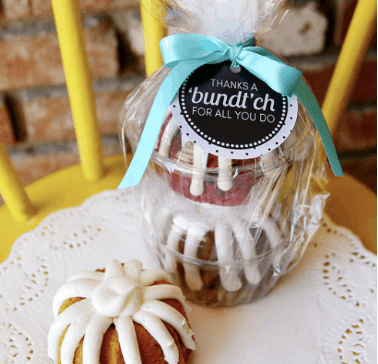 Thanks a 'Bundt'ch free printable