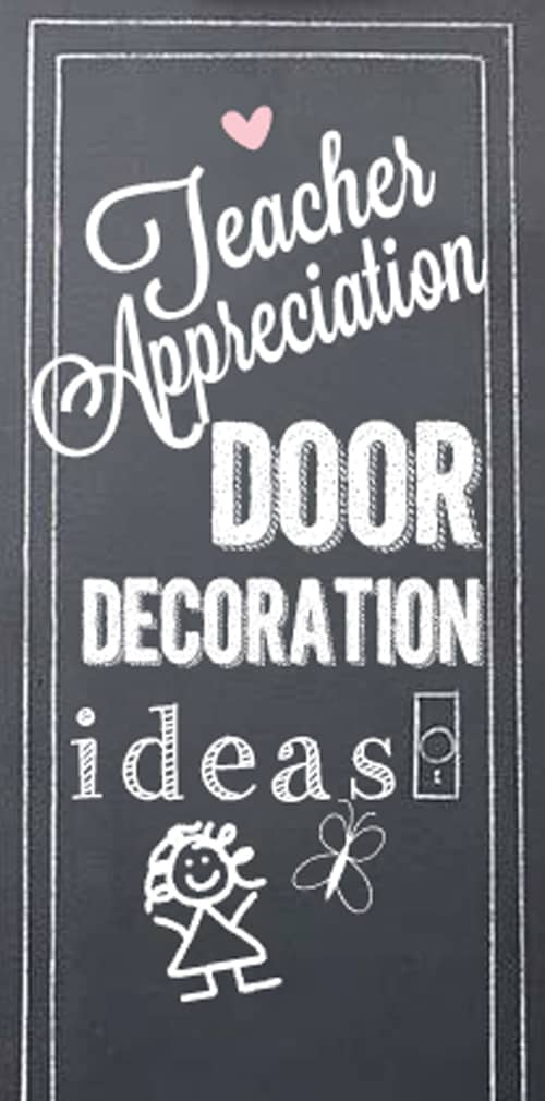 Teacher Appreciation Door Ideas