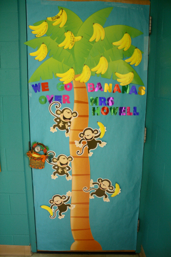 Classroom Door Decoration Spring ~ Teacher appreciation door ideas