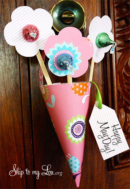 printable May Day Basket
