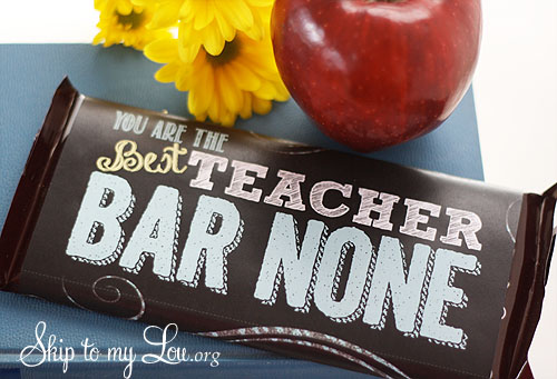 Teacher Appreciation Candy Bar Covers Skip To My Lou