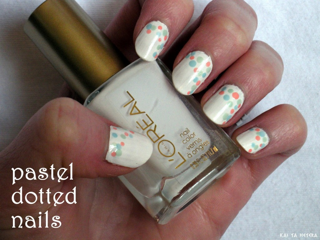 Dotted Nail tutorial