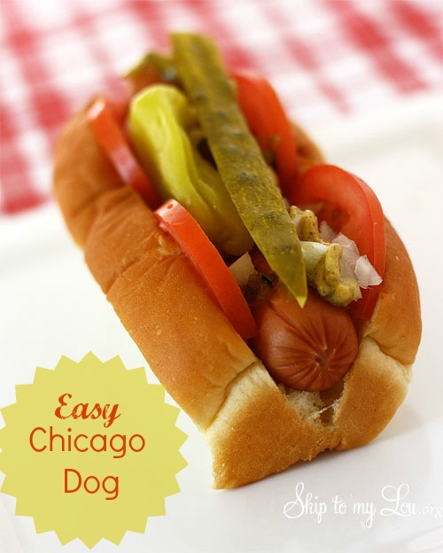 how to build a Chicago dog