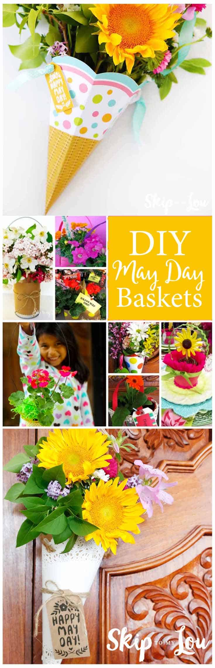 DIY May Day Baskets