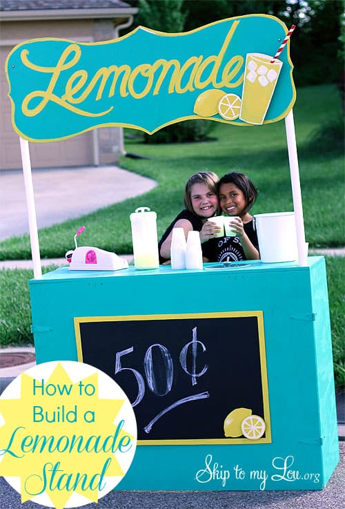 How To Make A Lemonade Stand Free Plans Skip To My Lou