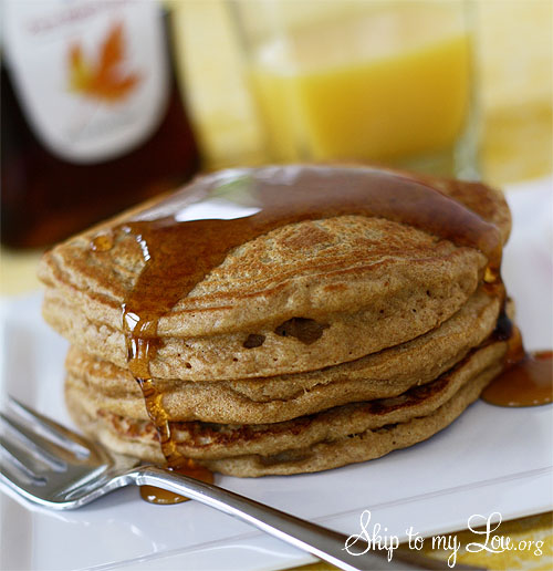 Whole Wheat and Flax Pancake Recipe