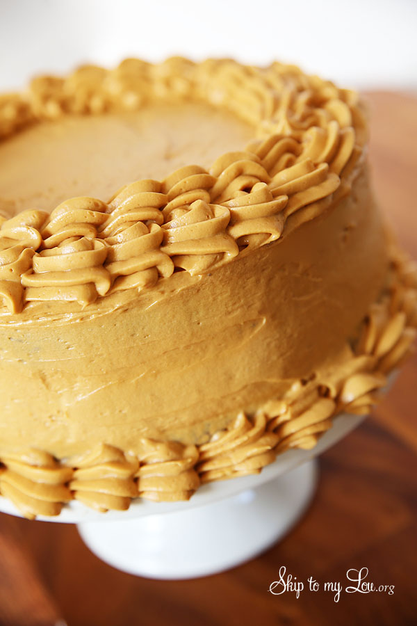 How To Make A Caramel Cake With Caramel Icing