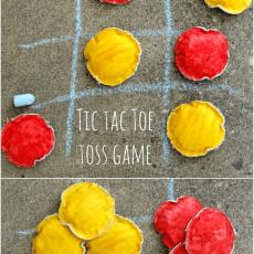 Tic Tac Toe Toss Game