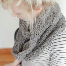 chuncky circle scarf