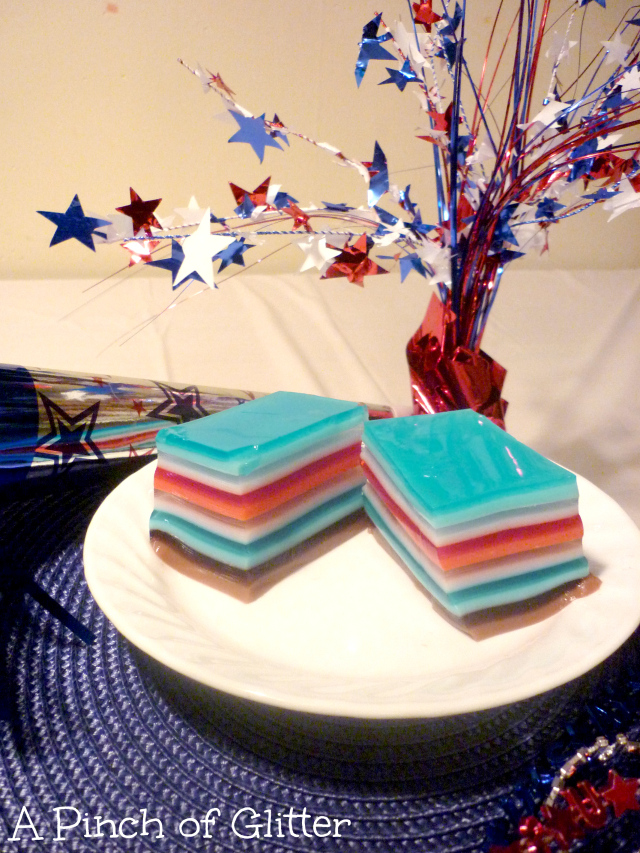 patriotic jello