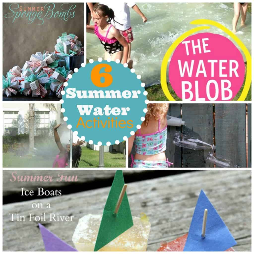 Six water activities for kids for Cool fun projects