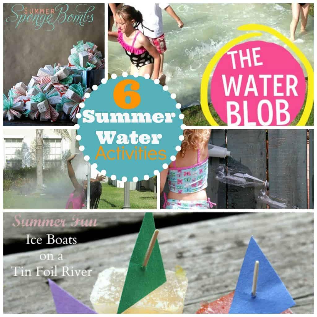 Six Water Activities For Kids