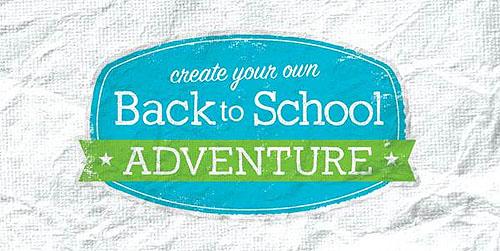 Michaels back to school adventure