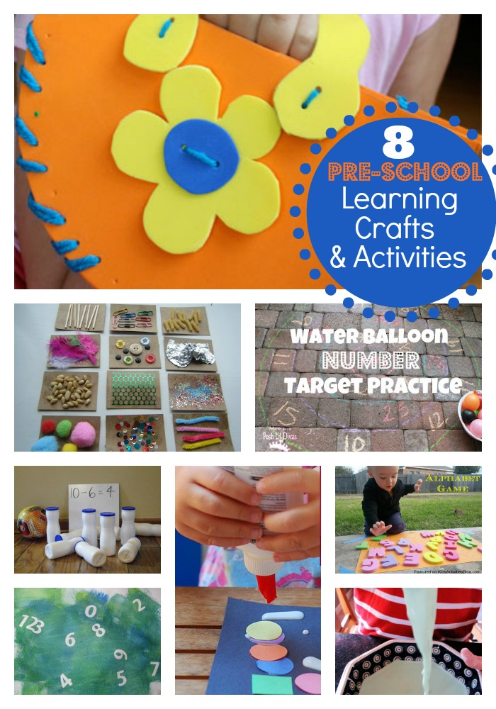 8 learning activities