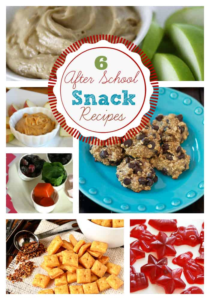Back To School After School Snack Recipes