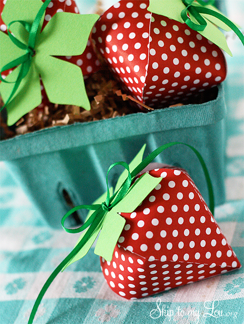 Berry Special Teacher Gift Strawberries