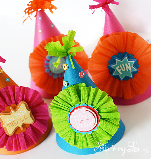 DIY Party Hats Tutorial
