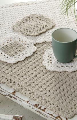 Placemat & Coaster Crochet Pattern