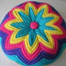 Retro Razzamatazz Cushion