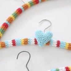crochet hangers