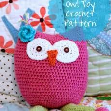 free crochet owl toy pattern