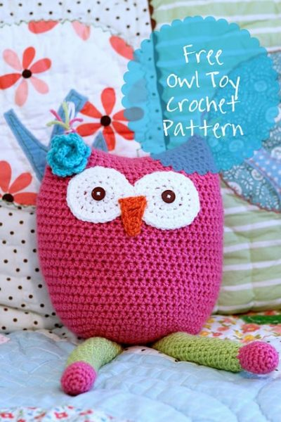 free crochet owl toy pattern
